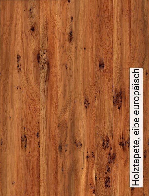 Holztapete  Tapete Holztapete, eibe europäisch | Die TapetenAgentur