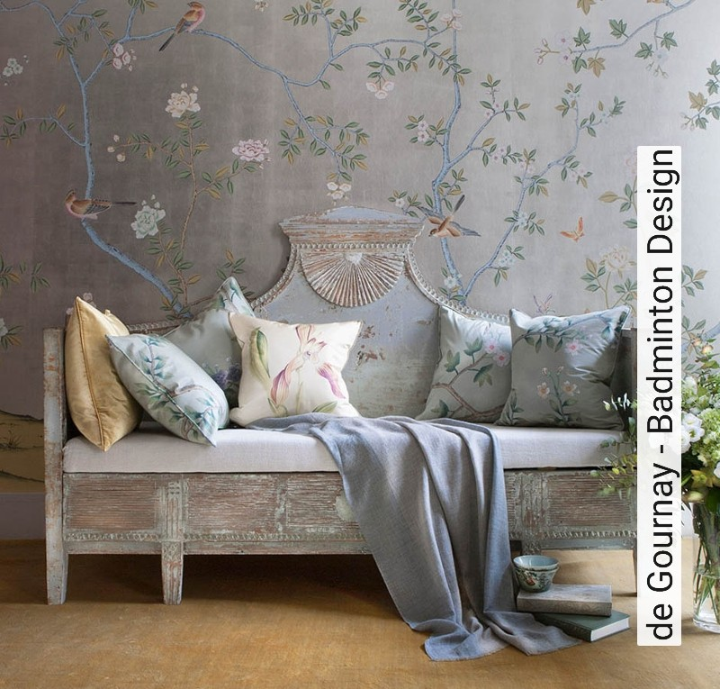 tapete de gournay badminton design die tapetenagentur. Black Bedroom Furniture Sets. Home Design Ideas
