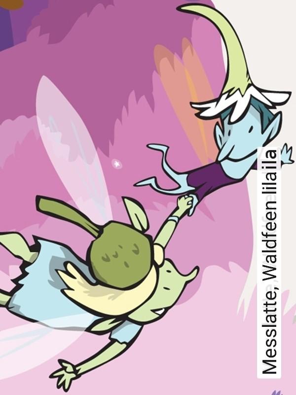 Tapete messlatte waldfeen lila die tapetenagentur for Tapeten in lila