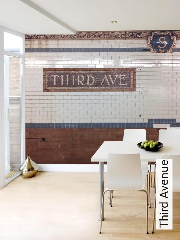 tapete third avenue heimathafen. Black Bedroom Furniture Sets. Home Design Ideas