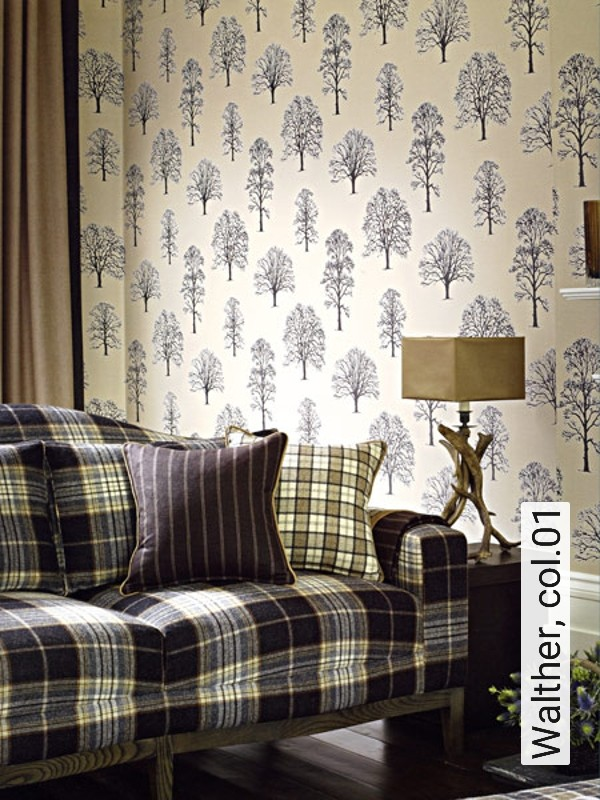 tapete walther. Black Bedroom Furniture Sets. Home Design Ideas